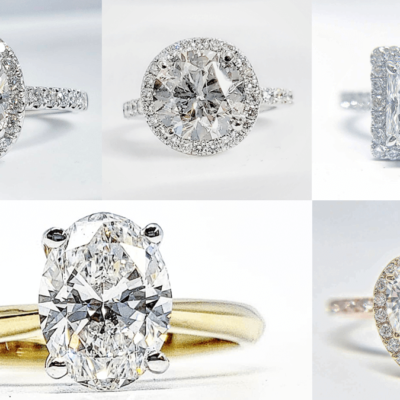 Which Cuts of Diamonds Look the Biggest for Engagement Rings?