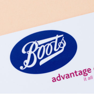 Boots Advantage Card or Tesco Clubcard