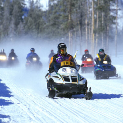 Snowmobiling Is fun, Until it's Not