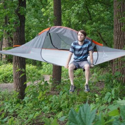 Why a hanging tent pod is the ultimate outdoor companion